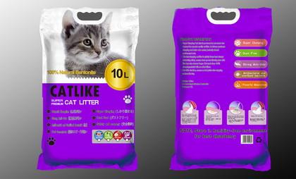 貓讚輕質大圓球貓砂(10L)薰衣草