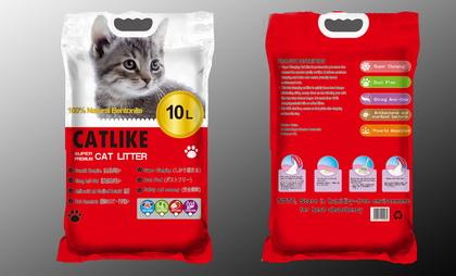貓讚輕質大圓球貓砂(10L)蘋果香