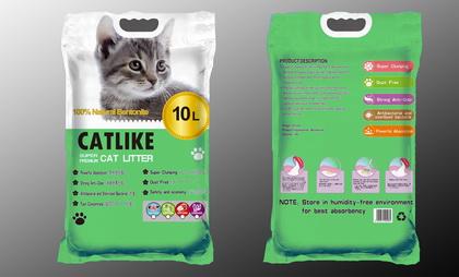 貓讚輕質大圓球貓砂(10L)檸檬香