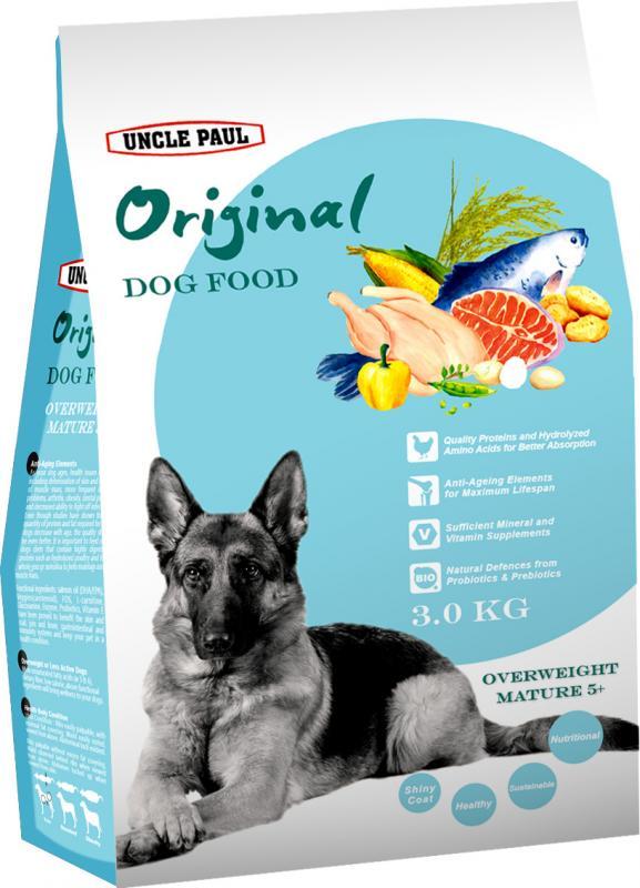 田園生機犬飼料-熟齡減重犬 (雞肉+鮭魚) 3kg