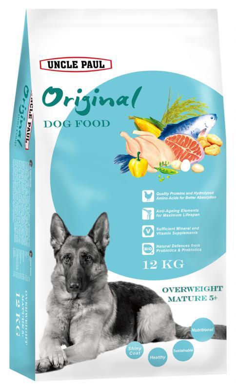 田園生機犬飼料-熟齡減重犬 (雞肉+鮭魚) 12kg