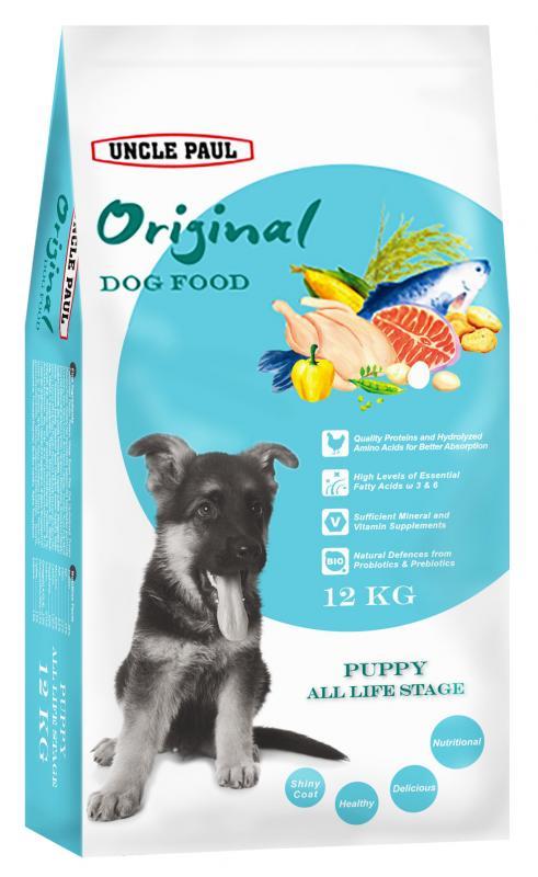 田園生機犬飼料-幼犬 (雞肉+鮭魚) 12kg