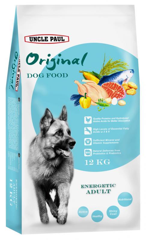 田園生機犬飼料-高能成犬 (雞肉+鮭魚) 12kg
