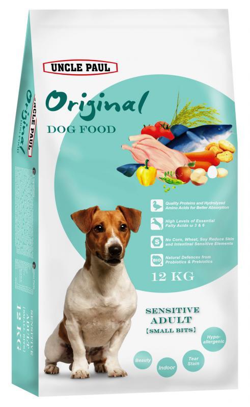 田園生機犬飼料-低敏成犬(小顆粒)  (鴨肉+鱈魚) 12kg