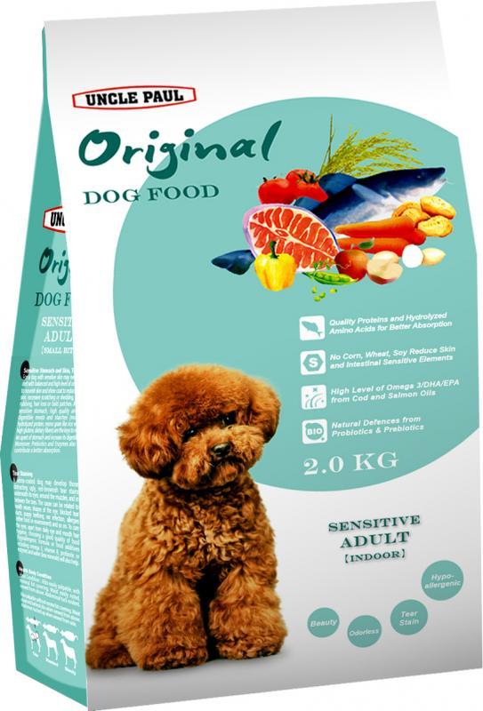 田園生機犬飼料-低敏成犬(室內犬) (鮭魚+鱈魚) 2kg