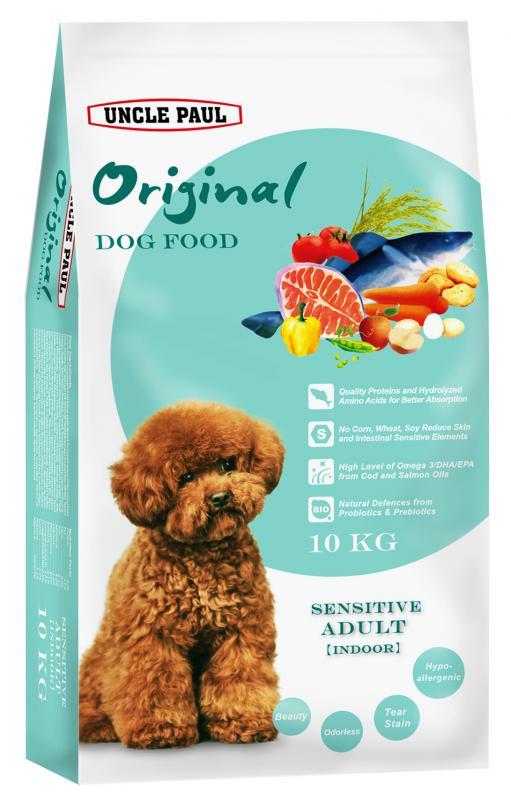 田園生機犬飼料-低敏成犬(室內犬) (鮭魚+鱈魚) 10kg