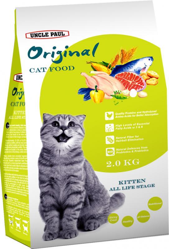 田園生機貓飼料-幼貓 (雞肉+鮭魚) 2kg