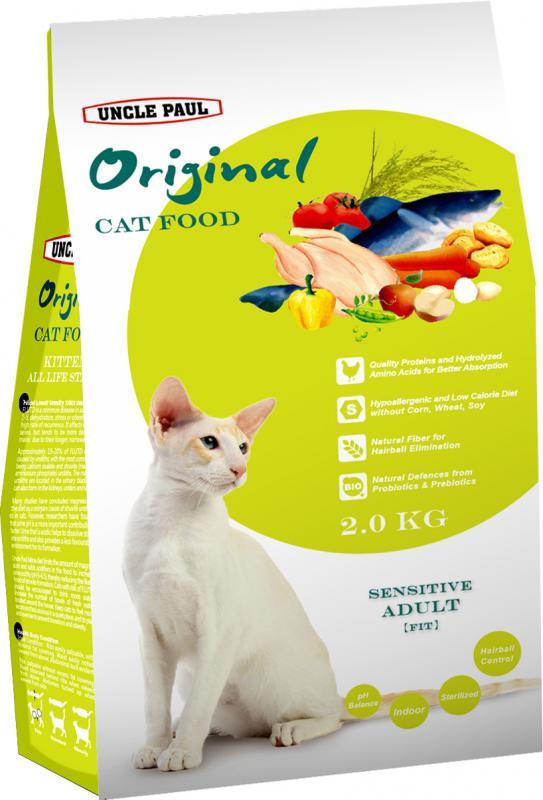 田園生機貓飼料-體態貓 (雞肉+鱈魚) 2kg
