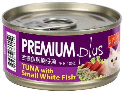 PREMIUM Plus (金槍魚&吻仔魚) 80g (24入)