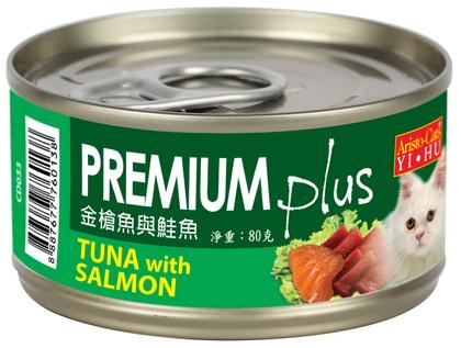 PREMIUM Plus (金槍魚&鮭魚) 80g (24入)