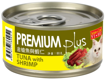 PREMIUM Plus (金槍魚&蝦仁) 80g (24入)