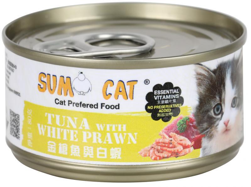 SUMO CAT (金槍魚&白蝦) 80g (24入)
