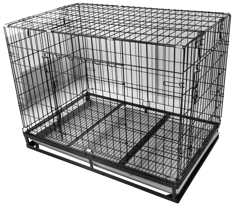 3.5*2.2尺烤漆狼犬籠(3號)