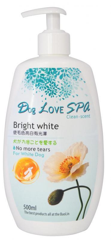 豆狗愛SPA浴香波 (白毛犬)500ml