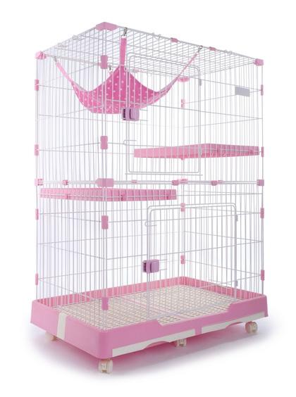貓讚雙層貓籠(小) M-2