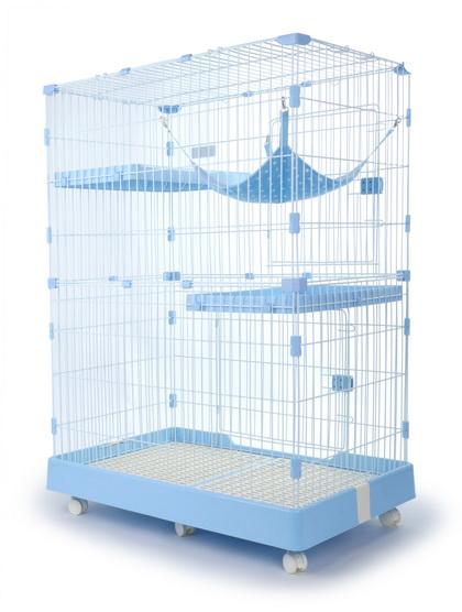 貓讚雙層貓籠(中) L-2