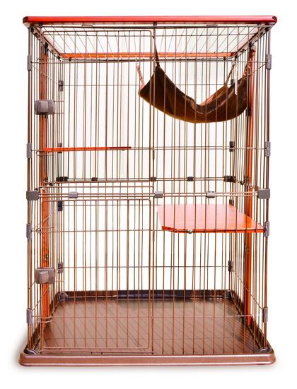 寶麟特製實木貓籠(雙層)