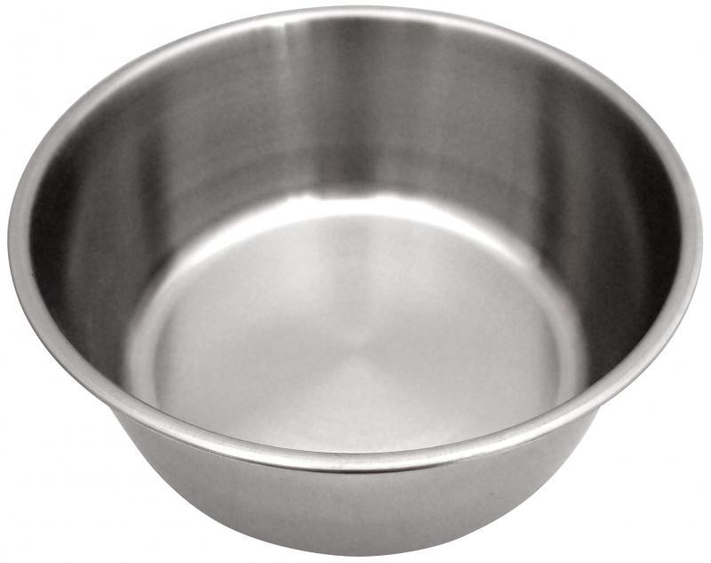1號狗碗(白鐵)