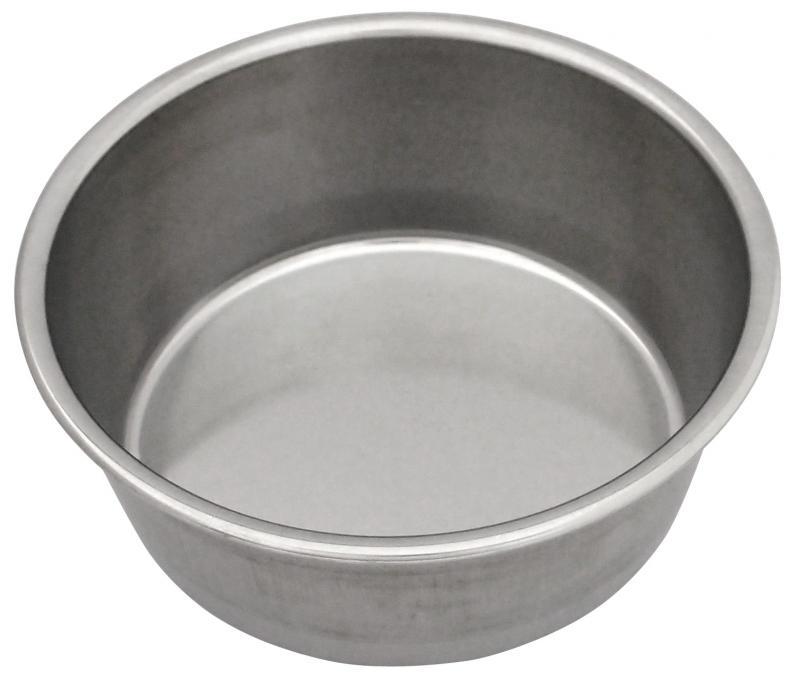 2號半狗碗 (白鐵)
