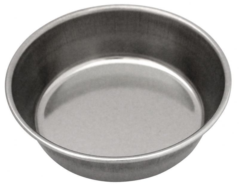 4號平狗碗 (白鐵)