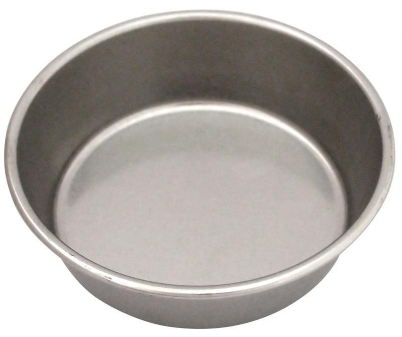 3號平狗碗 (白鐵)