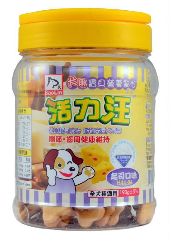 活力汪骨型餅乾(起司蔬菜口味)190g