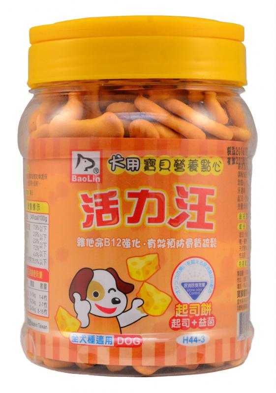 活力汪起司餅+益菌 200g