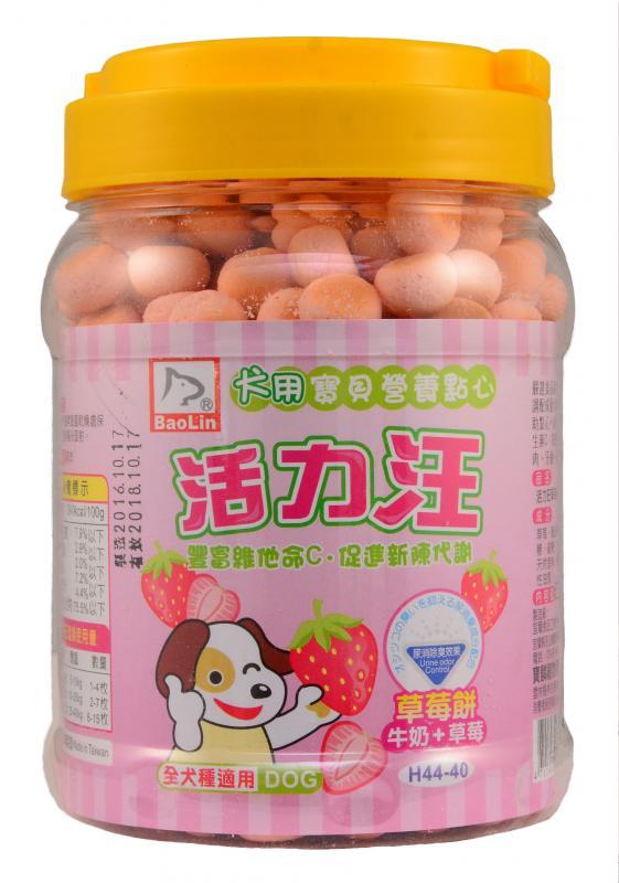 活力汪小饅頭(草莓餅+鈣) 200g