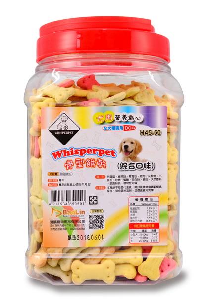 Whisperpet骨型餅乾(綜合口味)380g