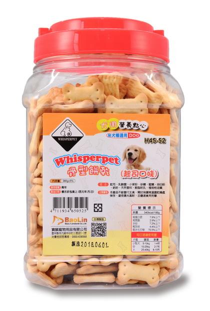 Whisperpet骨型餅乾(起司口味)380g