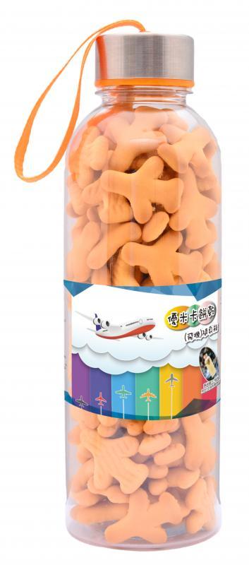 優米卡餅乾(飛機)隨身瓶160g