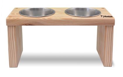 優米卡木碗架 平雙碗(高)