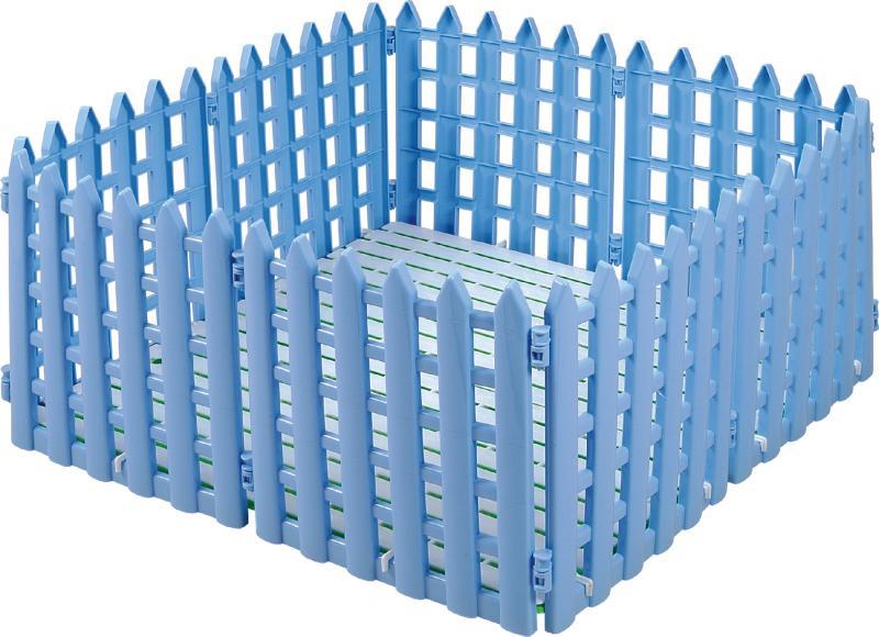 柵欄[859] 10片裝  粉.紫.藍 37*2*43cm