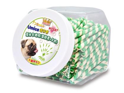 優米卡捲條(葉綠素+牛奶)*240入