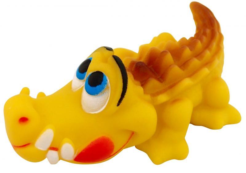 塑膠玩具(鱷魚)