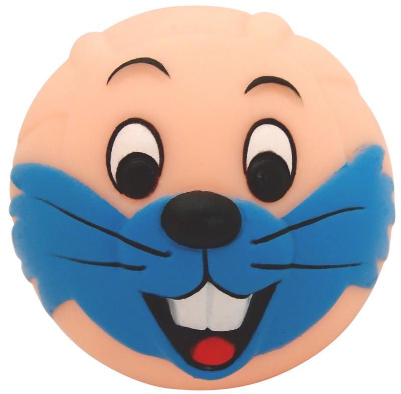 塑膠玩具(動物球)兔子