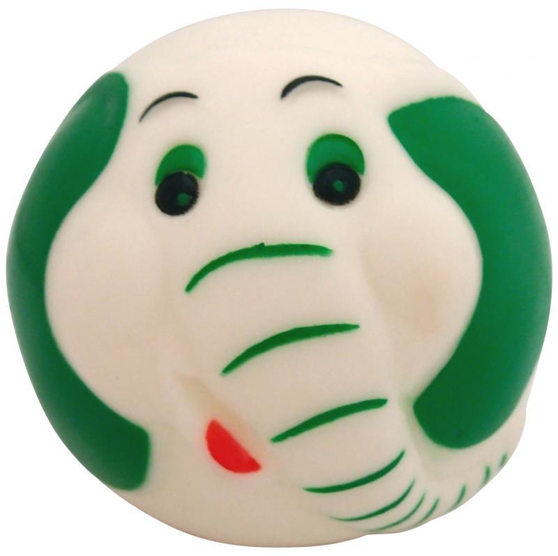 塑膠玩具  (動物球)大象