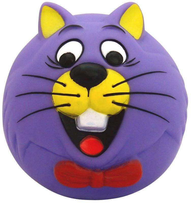 塑膠玩具  (動物球)貓