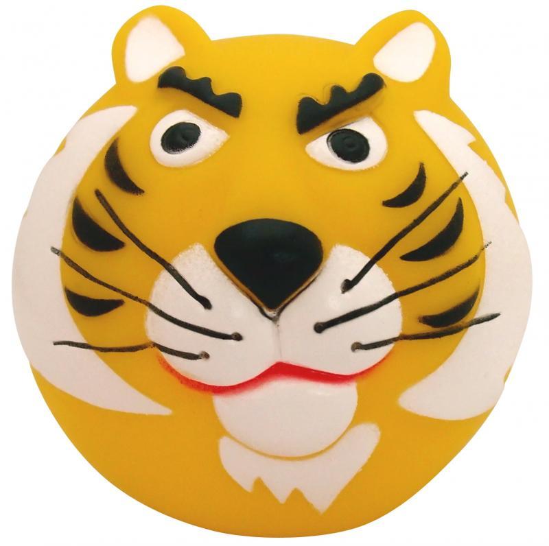 塑膠玩具(動物球)虎