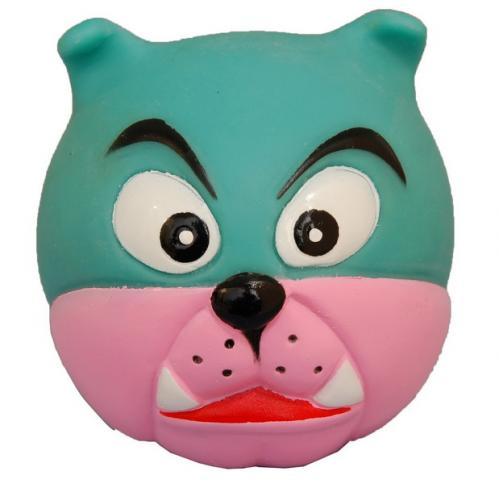 塑膠玩具(動物球) 狗