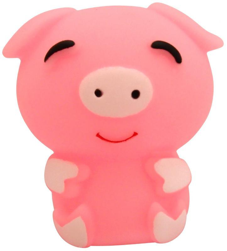 寵物精緻動物小玩具(粉紅豬)