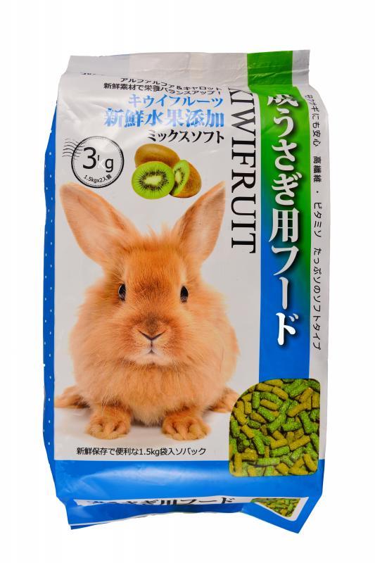 成兔專用飼料 奇異果(3kg)