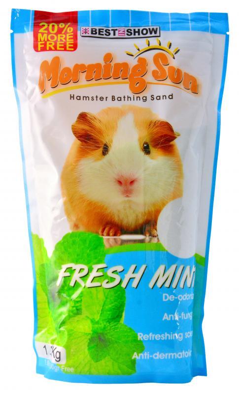 優米卡倉鼠專用沐砂1.2Kg 薄荷