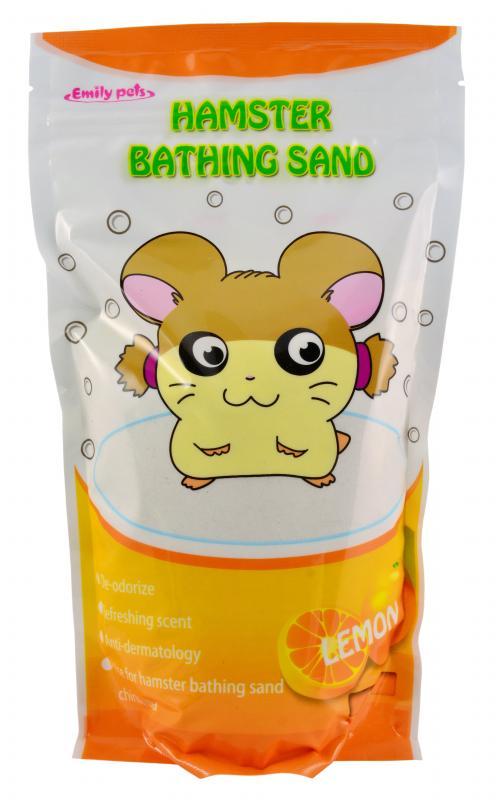 艾蜜莉倉鼠沐浴砂1kg檸檬
