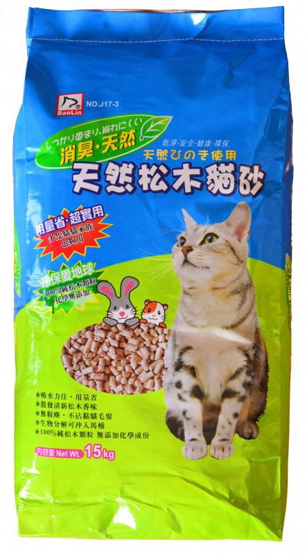 進口松木屑(貓.小動物) 15kg