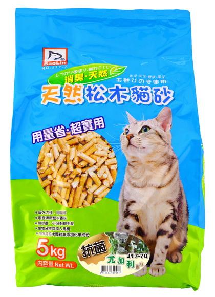 寶麟松木屑(貓.小動物)5kg 尤加利香味