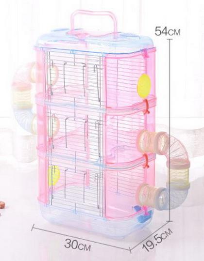 水晶透明鼠籠(三層)32*21*55cm