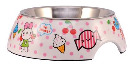 優米卡美耐皿+白鐵碗(S)