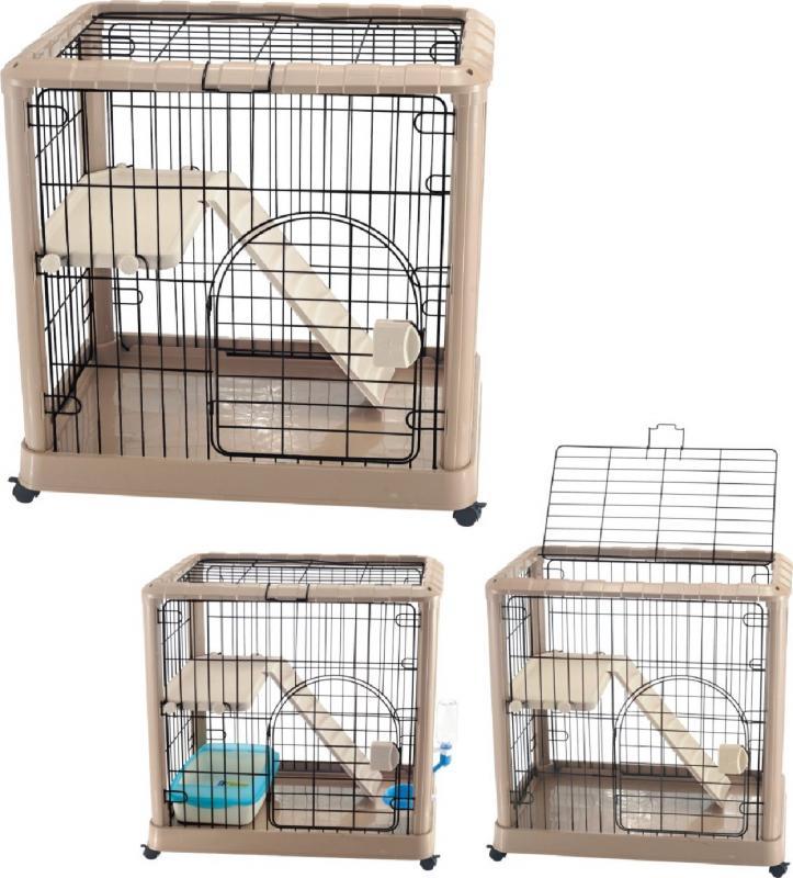 優質豪華雙層貓籠(大)