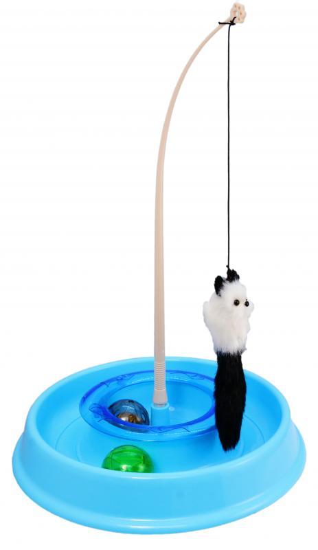 貓玩具圓形轉盤(發聲球)